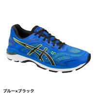 ASICS GT-2000 7 (1011A158) Men's Running Shoes : Blue x Black /size 9 (27.0cm)