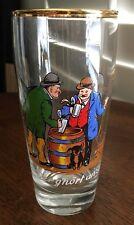 Vintage German Novelty Humor Bar Beer Glass 0.25 L Der G'Hort Anzeigt