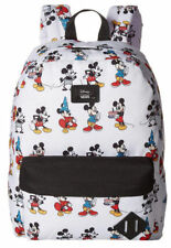 NWT VANS Disney Old Skool II BACKPACK School Bag MICKEY TROUGH AGES White RARE