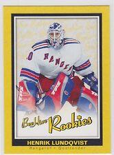 2005 05-06 Beehive rookie #126 Henrik Lundqvist RC New York Rangers