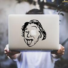 Sticker pour MacBook Pro Air - EINSTEIN - Noir ou Blanc - Fabriqué en France
