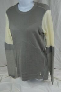 Smartwool Women's Intraknit™ Merino 250 Thermal Colorblock CrewMSRP$140(2002)Gry