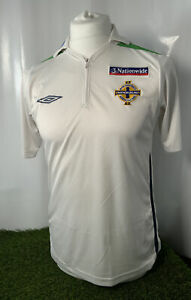 Northern Ireland adults S MINT Player Issue  Polo football 2005 jersey soccer .