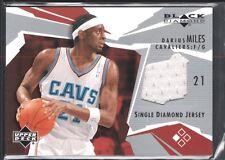 DARIUS MILES 2003/04 BLACK DIAMOND GAME USED JERSEY CLEVELAND CAVALIERS SP $12