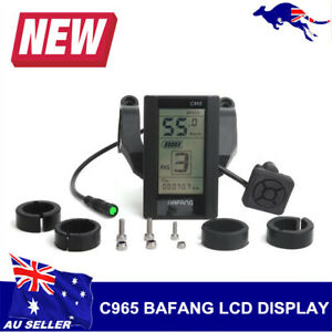 E-Bike LCD Display Meter Control Panel Replacement For Bafang C965 BBS 01/02/HD