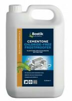 Bostik Cementone Chloride-Free Frostproofer Mortar Setting Accelerator 10L 2 x5L