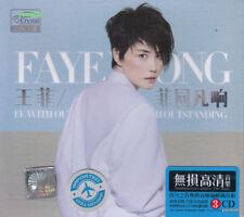 Faye Wong 王菲 菲同凡响 + Greatest Hit 3 CD 52 Songs 24K Gold Dics
