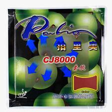 2Pcs Palio CJ8000 Table Tennis Ping Pong Racket Rubber Hardness 40-42°