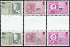 British Virgin Islands Sc. 360-363 in Gutter Pairs MNH.
