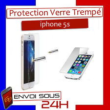 VITRE PROTECTION EN VERRE TREMPÉ FILM PROTECTEUR ÉCRAN POUR IPHONE 5S