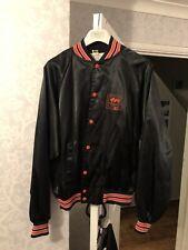 Vintage 80's Satin Jacket Size Large