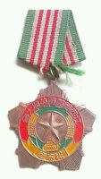 China Communism medals x5, both sides shown.