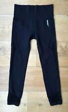 GYMSHARK Energy+ Seamless High Waist Leggings Black Medium