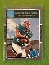 WENDELL SMALLWOOD ROOKIE CARD RC Philadelpia Eagles Football - 2016 Donruss #399