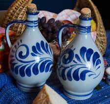 """""""Öl und Essig Fass""""  Salt Glazed Stoneware Cruetts to Add Fun in the Kitchen"""