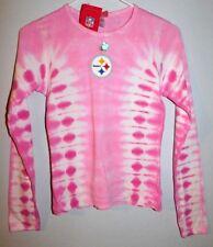 Pittsburgh Steelers Girls Medium Tie Dye Long Sleeve Shirt  NFL Apparel