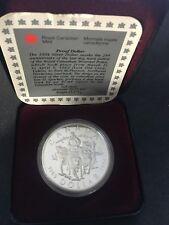 RARE 1969-1994 CANADA STERLING PROOF DOLLAR 25th ANNIV. DOG TEAM COMMEMORATIVE