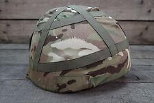 "GB UK Gefechtshelm Helm Combat GS MK6 ""Bowler Hat"" ballistisches Nylon MTP Large"