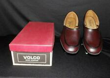 Fab Mens Vtg 50s 60s Volco Shoes Moccasin Slippers #9035 New Old Stock Nos Usa