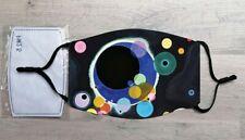 Several Circles face mask (Wassily Kandinsky)