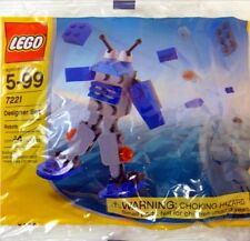 LEGO 7221 Designer Robots Polybag Set from 2003 Brand NEW & Factory SEALED