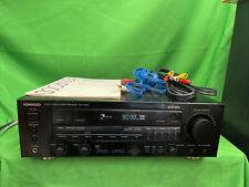 Kenwood KR-V7030 AV Stereo Receiver Dolby Pro-Logic +Manual Works Great Powerful