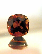 Natural  pinkish red cushion cut tourmaline...quality gem....3.42 Carat