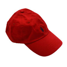 Polo Ralph Lauren Mens Embroidered Pony Logo Baseball Cap Many Colors Red f9ed966be350