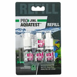 JBL ProAqua Test Kit CA Calcium Refill aquarium fish marine salt reef water