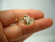 Engagement Ring B47217 14Kt Y/G Marquise Diamond
