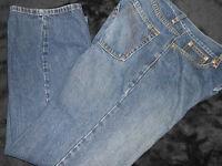 J Ferraar blue jeans mens size 32x30 pants brand name Classic Straight Leg