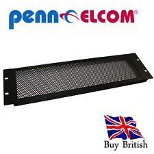 19 pouces perforée ventilation rack panel (3u)