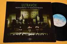 ULTRAVOX LP MONUMENT THE BANDE ORIGINALE ORIG GERMANY EX