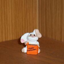 Hallmark Halloween Merry Miniature 1991 Bunny Mummy