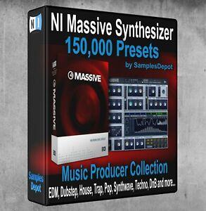 150,000 NI Massive Presets Pack - Ableton, Cubase, Logic Pro FL Studio, Bitwig