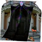 Halloween Decorations Outdoor 10 Ft Hanging Lighted Glowing Ghost Colorful