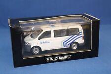 Minichamps VW T5 2002 Police 1:43 Scale 400 052290