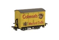 Peco GR-900 OO-9 Gauge Box Van Colmans Mustard