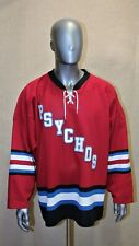 Maillot Hockey Jersey Psychos Athletic Knit taille XL made in Canada