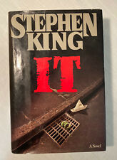 Stephen King IT Hardcover 1986 Viking True First Edition 1st Printing