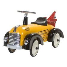 Retro Roller Rutscher Speedster Tommy gelb Rutschauto Abschleppwagen 0706096