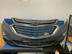 2018 2019 Chevy Chevrolet Equinox Front bumper COMPLETE WITH GRILLE FOG LAMP