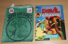 ED.CORNO SERIE DEVIL GIGANTE  N° 4 1977  CON BUSTA ORIGINALE APERTA  N° 10 !!!!!