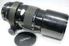 Cámara SLR Nikon Nikkor 300mm 1:4 Lentes .5 Ai con cuello Tipod, se adapta a SLR/D