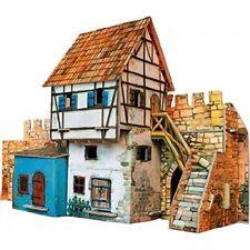 Clever 3D 14250 -Puzzle de casa muralla Medieval en cartón