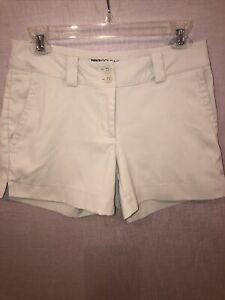 NEW nike golf tour performance dri-fit womens 2 shorts grayish tan