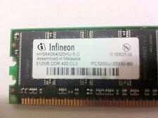 512 MB RAM, DDR, PC3200