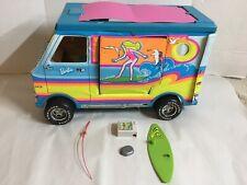 Barbie Beach Bus Vintage 1971 Surfer Motorhome Van Mattel Vinyl Vehicle Camper