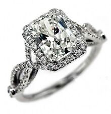 Victoria Wieck Antique Simulated Diamond Sterling Silver Ring
