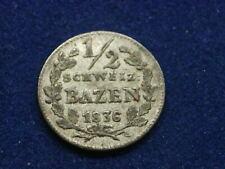 1/2 Batzen 1836 Graubünden Schweiz - Swiss  W/21/1037